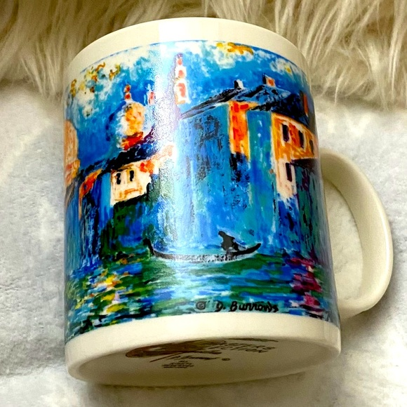 "VTG CHALEUR MASTER COLLECTION MUG ""D Burrows"""